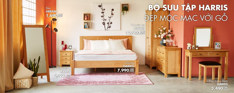 Banner bộ sưu tập nội thất phòng ngủ đẹp từ Funismart