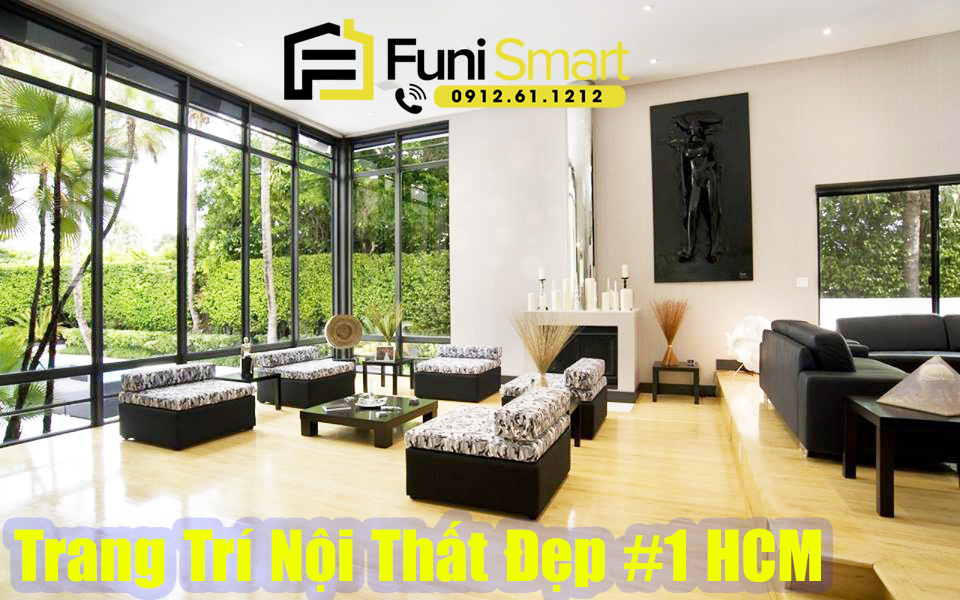 Công ty trang trí nội thất đẹp số 1 tphcm Funismart