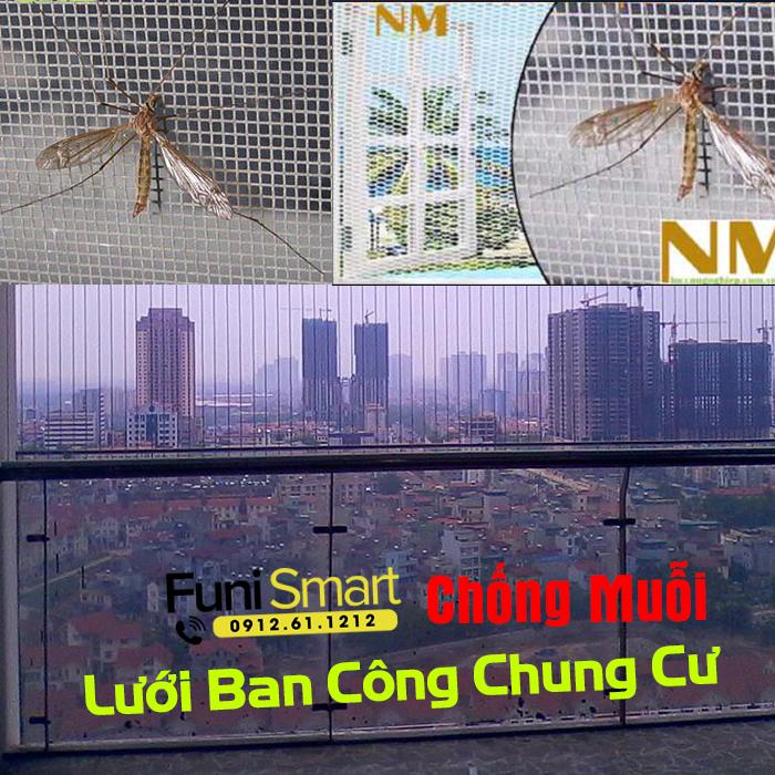 Lưới chống muỗi ban công FNLM05 giá rẻ