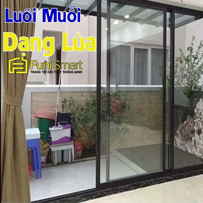 Cửa lưới chống côn trùng dạng lùa cao cấp FNCL01