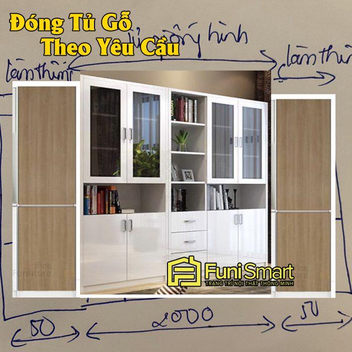 Ví dụ thực tế về đóng tủ gỗ theo yêu cầu của khách hàng