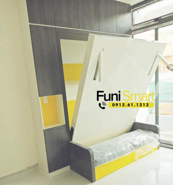 Giường gấp thông minh giá rẻ tphcm mã số FNGN28