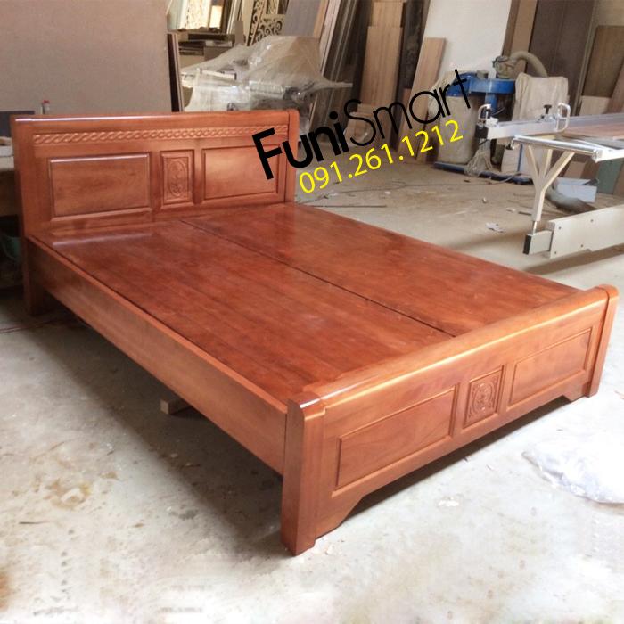 Giường gỗ xoan đào hiện đại FNGN02