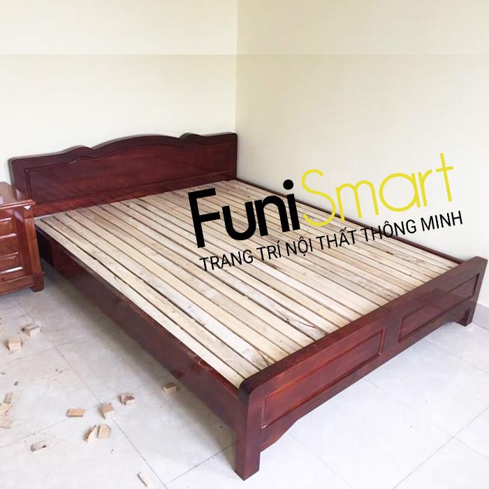 Giường ngủ gỗ giá rẻ FNGN01