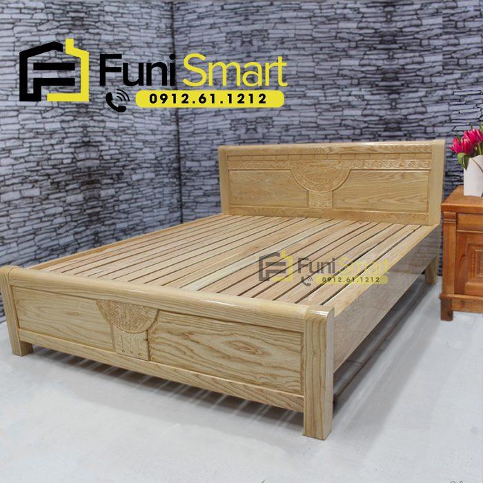 Giường ngủ gỗ nhà nghỉ giá rẻ