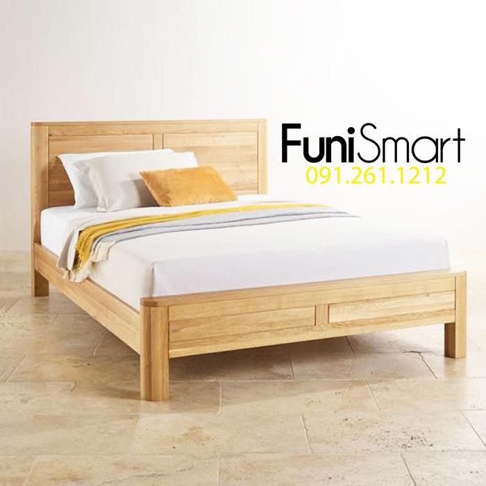 Giường ngủ gỗ sồi giá tốt rẻ nhất tphcm mã FNGN04