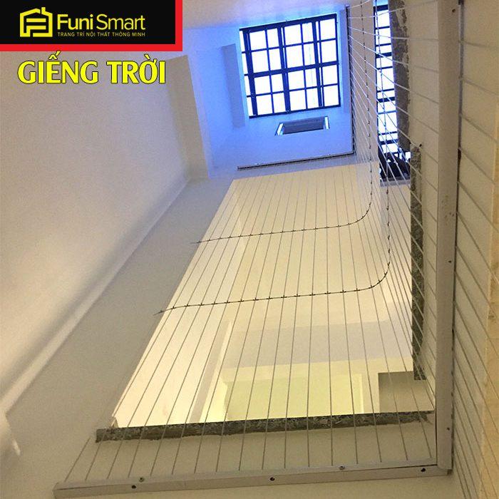 Lưới an toàn giếng trời nhà phố FNLAT09
