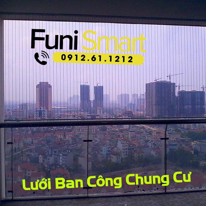 Lưới ban công chung cư Funismart FNLAT04