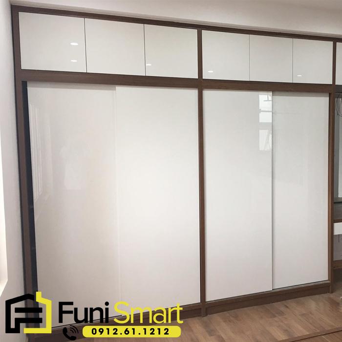 Mẫu tủ quần áo gỗ 4 buồng đẹp FNTT01