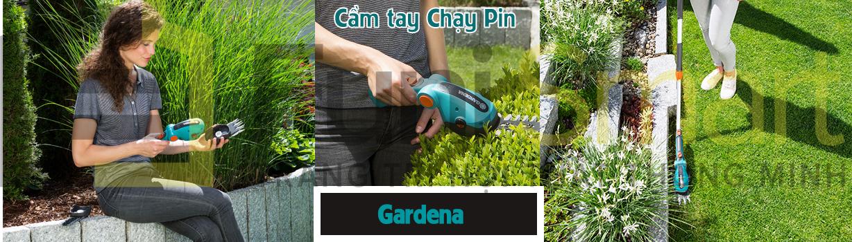 Máy cắt cỏ cầm tay chạy pin giá tốt được Funismart bán ra