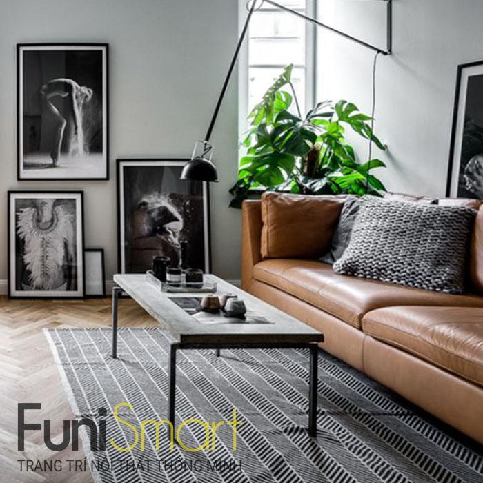Nội thất phòng khách đẹp giá tốt bởi Funismart