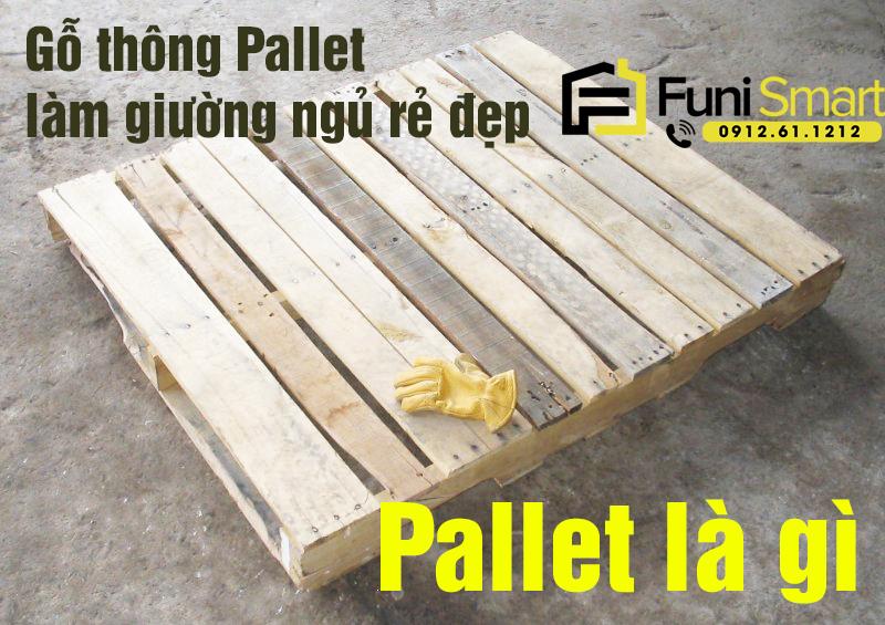 Pallet là gì Pallet gỗ làm giường rẻ đẹp