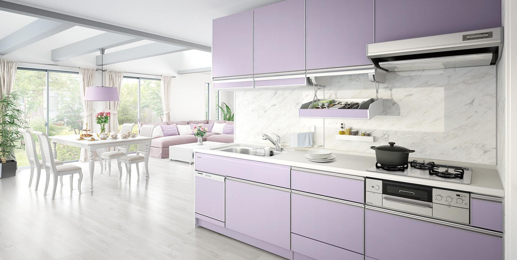 Tủ bếp đẹp theo yêu cầu