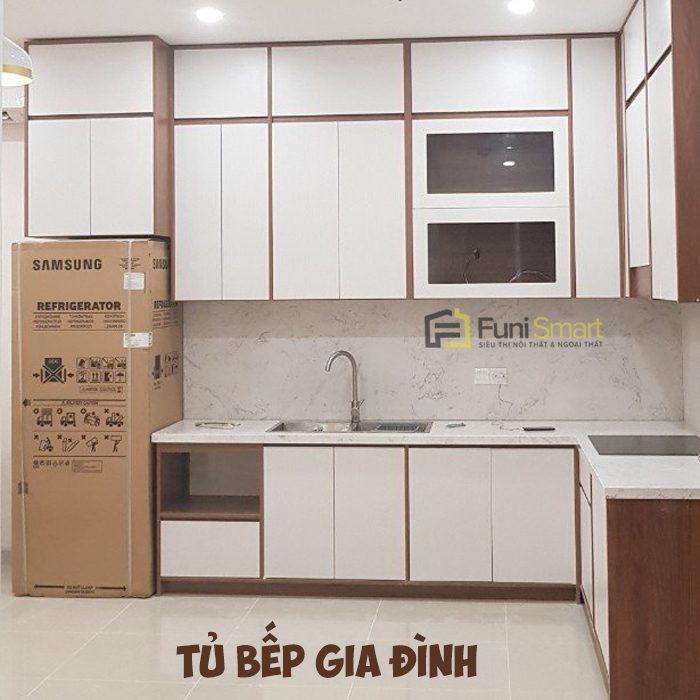 Làm Tủ bếp GIA ĐÌNH đẹp mà GIÁ RẺ tại [ Tphcm] Top ⓵ & BẢNG GIÁ.