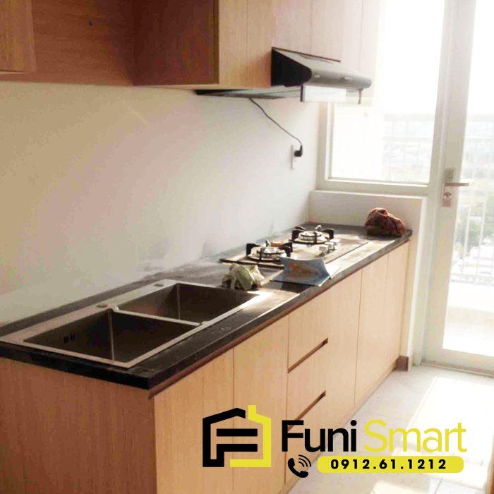 Tủ bếp nhỏ giá rẻ FNTB11