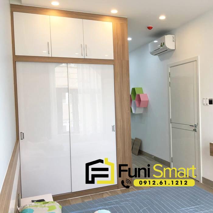 Tủ quần áo gỗ mdf giá rẻ FNTT02