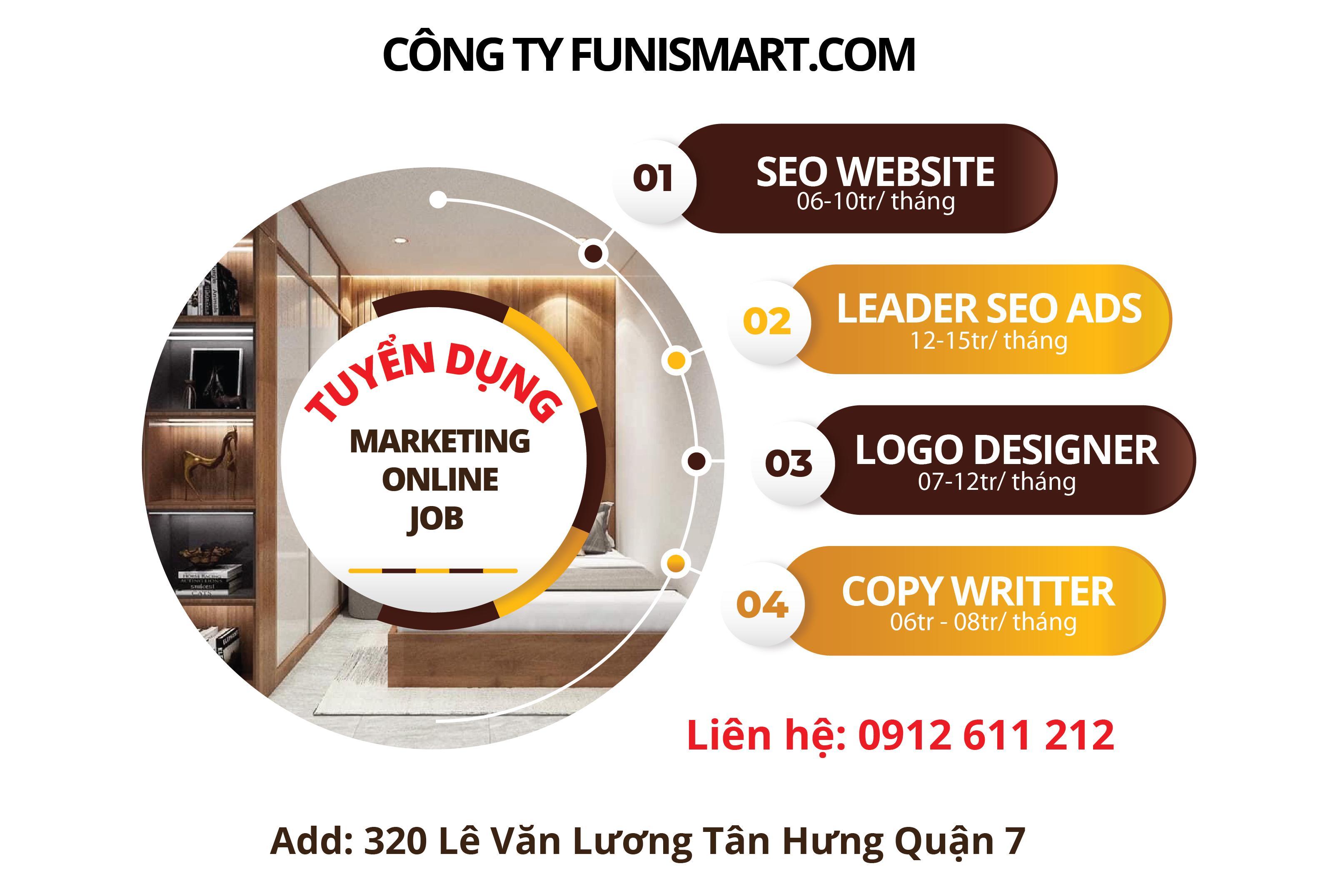 Work with Funismart tuyển dụng nhân sự